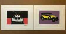 ANDY WARHOL MERCEDES LITHOGRAPH PAIR PLATE SIGNED HAND PENCIL NUMBERED STAMPED