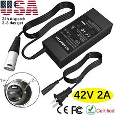 42V Electric Skip Scooter Battery Charger For Razor Mx6500 Mx500 St1000 Sx500 Us