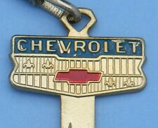 1 CHEVROLET BOW TIE GOLD PLATED 1968 1972 1976 1980 87 1988 1989 CREST KEY BLANK
