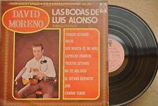 DAVID MORENO Y SU GUITARRA LAS BODAS DE LUIS ALONSO MEXICAN LP FLAMENCO