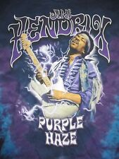 "Retro Jimi Hendrix ""Purple Haze"" (Lg) Tie-Dye T-Shirt"