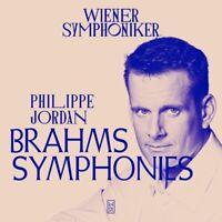 JOHANNES BRAHMS: SINFONIEN 1-4 - WIENER SYMPHONIKER  4 CD NEU