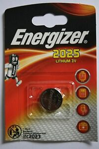 10 x Energizer Lithium CR2025 DL2025 , 10 x 1er Blister, bis 7/2023