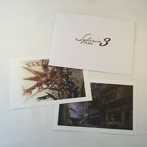 Syberia 3 Art Prints in Envelope Promo - PS4 Nintendo Switch Xbox One Lithograph