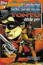Lone Ranger And Tonto Comic 1 Cover A First Print 1994 Joe Lansdale Topps