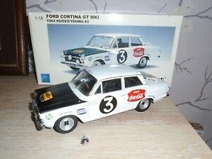 AUTOART  MK1 GT CORTINA  1964  HUGHES/YOUNG