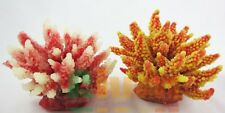 2XAquarium Fish Tank Silicone Sea Anemone Artificial Coral Ornament SH 095