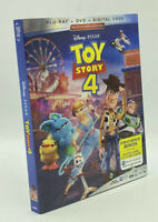 Toy Story 4  [2019]  Blu-ray+DVD+Digital Code; Multi-Screen Edition & Slipcover