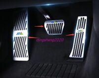 2PCS Stainless steel Accelerator Pedal Cover Trim For Chevrolet Blazer 2019-2020