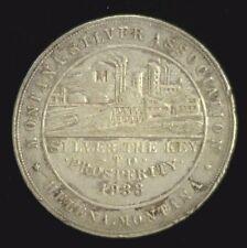 SCARCE 1933 MONTANA SO CALLED SILVER DOLLAR HK-820    (2251NAM)