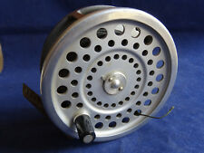 A SUPER CONDITION HARDY MARQUIS NO 2 SALMON FLY REEL + TAPERED SILK LINE
