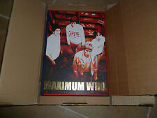 MAXIMUM WHO SIGNED GENESIS PUBLICATIONS BOOK ROSS HALFIN Pete Townshend