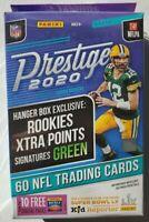 2020 PANINI PRESTIGE NFL FOOTBALL HANGER BOX BURROW TUA HERBERT AUTO PRIZM RC