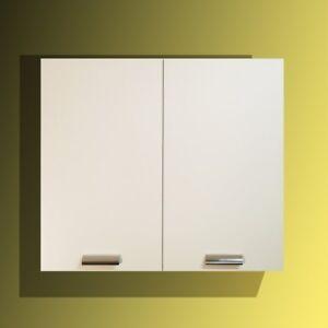 Pensile cucina da 80 cm 2 ante + ripiano Colore Bianco o Olmo MabelOnline