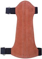 Target Fine Suede Arm Guard Size:19cm Long x 9cm Wide Archery Products.AG-216C.