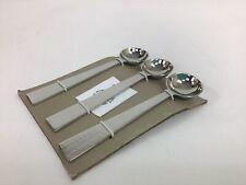 SALE  Set of 3 Hammered Handle Jam Tea Spoons Fair Trade