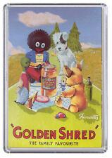 Golden Shred Vintage / Retro Advert Poster Fridge Magnet