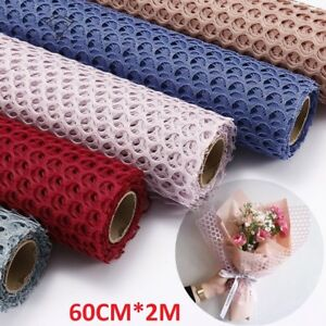 Flower Gift Packaging Wrap Paper Cloth Wedding Party Birth Day Roll Decor Wrap