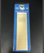 New East Coast Dyes Lax Mesh 15mm Semi-Soft Wax Lacrosse Mesh - White