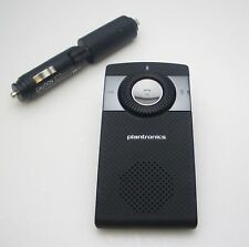 Plantronics K100 Bluetooth In-car Speakerphone c/w Vehicle Charger Fully Tested