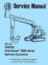 INTERNATIONAL 3960 Excavator Chassis Service Manual IH