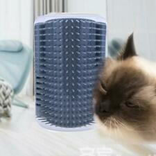 Cat Corner Scratching Rubbing Brush Pet Hair Removal Massage Comb Supplies