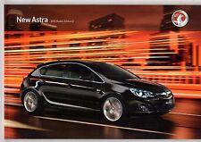 Vauxhall Astra 5-dr 2009-10 UK Market Sales Brochure ES Exclusiv SRi SE Elite