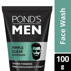 Pond's Men Pimple Clear Face Wash Acne Deffence and Oil Control 100gm fs