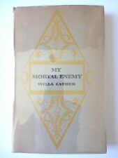 MY MORTAL ENEMY by WILLA CATHER 1926 FIRST EDITION 3RD PRINTING HC/DJ RARE NOVEL