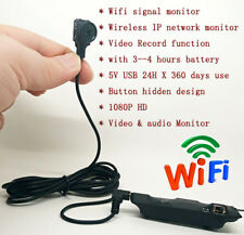 Button Design tiny Built-in battery wireless WIFI IP mini HD camera recorder DVR