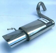 NEW Fiat 500  Performance exhaust 304 stainless