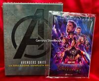 AVENGERS 1-4 Collection [Blu-ray] complete 4-Movies + Marvel End Game Art Cards*