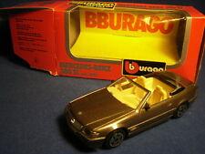 1/43 Mercedes Benz 300SL 1989 Cabrio Burago Cod 4109 Made in Italy 1990