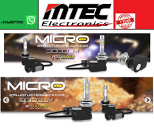 MTEC KIT LED CANBUS HEAD LIGHT H7 12v 6000K LED 9600 LUMEN // T5 NOVITA' 2017
