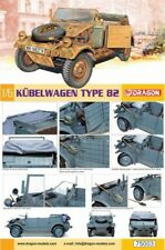 Dragon DML 1/6 Scale Kubelwagen Type B2 Military Car Vehicles Model DIY Unpaint