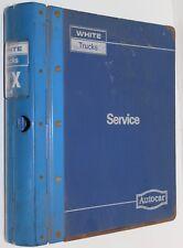 White Trucks Autocar WX service manual 4-9