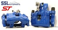 Focus 2.5 ST2 ST3 ST225 Blue Rear Remanufactured Brake Calipers & Carriers