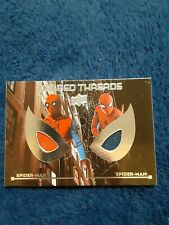 Spiderman Homecoming Upper deck Webbed Threads WTD5 dual Relic