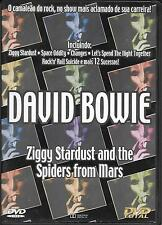 """DAVID BOWIE - RARO DVD SPAGNA """" ZIGGY STARDUST AND THE SPIDERS FROM MARS """""""