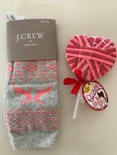 J.Crew Women's socks with FREE hair ties.