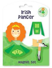 Bailarín irlandés Verde Celta construir me FRIDGE MAGNET de Cocina Hogar