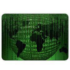 "XXL Gamer apuri ""Matrix"" - 40x28cm-Gaming alfombrilla de mouse-code-hacker"