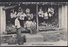 Sri Lanka Postcard - Native Fruit Shop (Boutique), Colombo  BH706