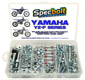 YAMAHA Bolt Kit YZ450F YZF450 YZF250 YZ250F YZF400 YZF426 Body Eng frame