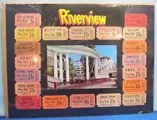 Amusement Park ~ Chicago 1950's Riverview Memorabilia ~ Wood  Roller Coaster