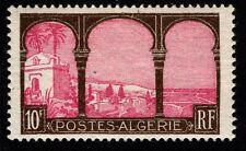 1927 French Algeria Sc #66 - 10 Francs High Value Mint Never Hinged; SCV $80.00