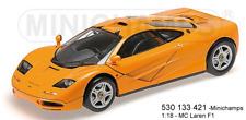 Minichamps 530133421 - McLaren F1 – Road Car –1993 – ORANGE L.E.750 PS