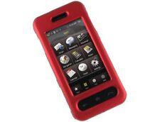 Rubberized Plastic Case Red For Samsung Instinct M800