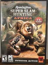 Remington Super Slam Hunting: Africa  PC CD ROM Game Hunting Shooting