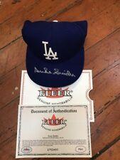 Duke Snider Signed Los Angeles Dodgers Baseball Cap Fleer Legacy